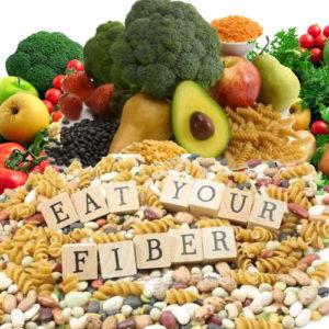 eat fiber!