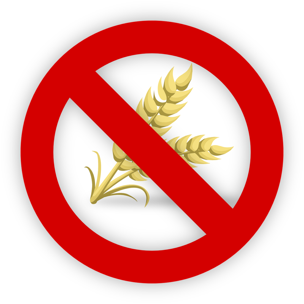 Stop sign over wheat stalk